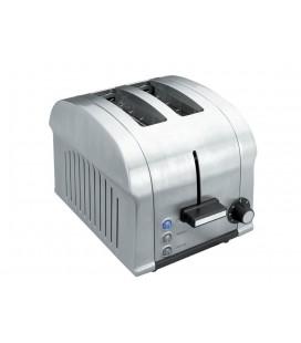 Le grille-pain électrique de Luxe 850W 2 slots de Lacor