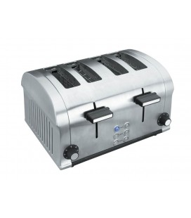 Electric toaster Luxe 1400W 4 slots of Lacor