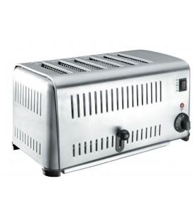 Buffet grille-pain en acier inoxydable 6 slots 3240W de Lacor