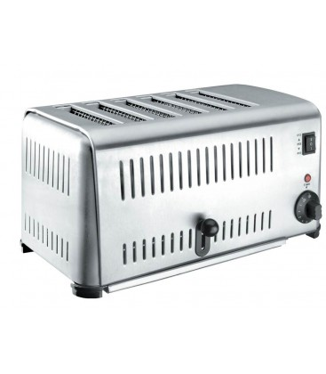 Toaster Buffet stainless 6 slots 3240W of Lacor