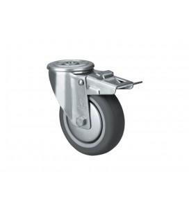 Wheel with brake for Modular shelving in Lacor
