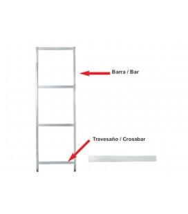 Bar côté de Lacor modulaire d'étagères support