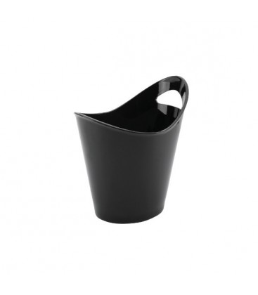 Cubo Enfriabotellas Negro con Asa de Lacor