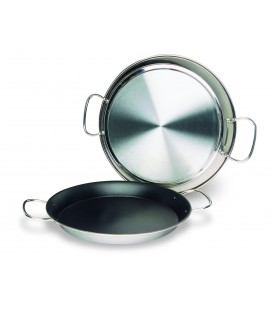 Paella Valenciana stainless 18/10 non-stick of Lacor
