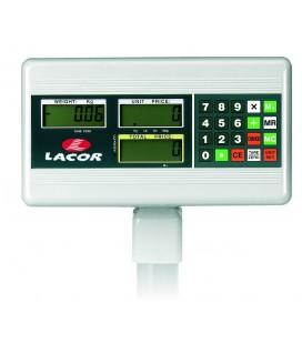 Báscula Electrónica con Base Cuadrada 150 Kg de Lacor