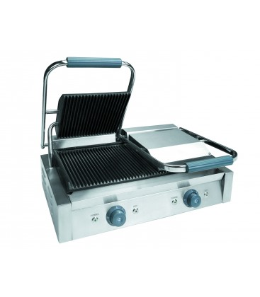 Double Iron Grill ribbed 4.4 Kw of Lacor