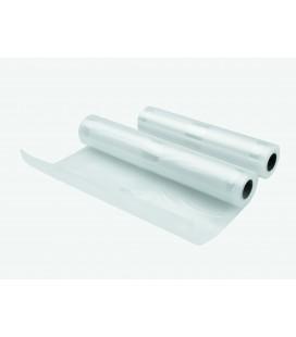 Pack 2 Bobinas Plástico conservación Vacío 22+28Cm-5M
