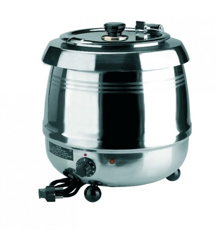 Cuisinière électrique inox chauffe-soupe 10 observateurs à long ...