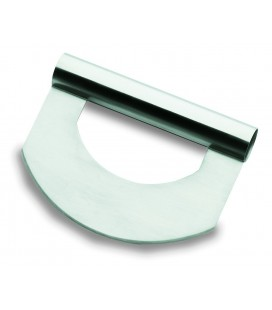 18/10 stainless round scraper of Lacor