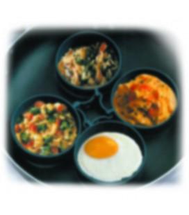 Set de 4 ustensiles de cuisine anneaux Lacor