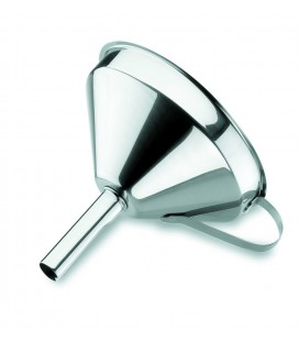 Funnel with filter stainless steel 18/10 of Lacor