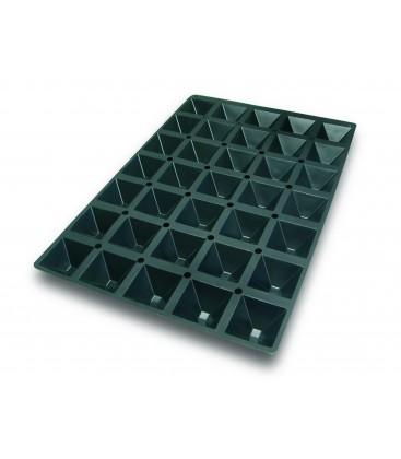 Molde Silicona 60X40 Cm Pirámide 65X65X35 Mm de Lacor