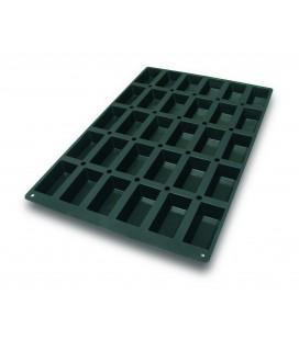Moule silicone 60 X 40 Cm Mini gâteau 99 X 49 X 30 Mm de Lacor
