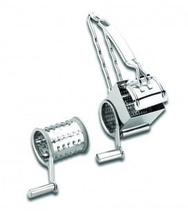 Grater stainless crank 2 blades of Lacor
