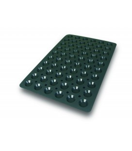 Silicone mould 60X40Cm Mini tartlet Lacor 44 X 10 Mm