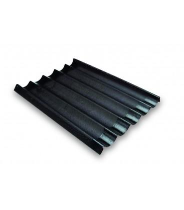 Moule silicone Baguette (5 cavités) de Lacor