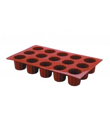 Cavités moule Bordelais 15 mini silicone de Lacor