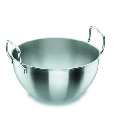 Cauldron Semi-esferico with handles 18/10 stainless of Lacor