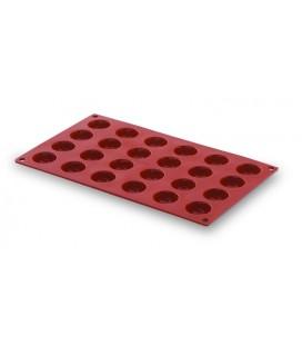 Cavités moule Pomponette 24 silicone de Lacor