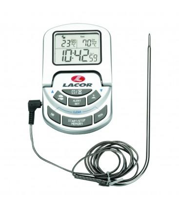 Four thermomètre numérique avec sonde de Lacor