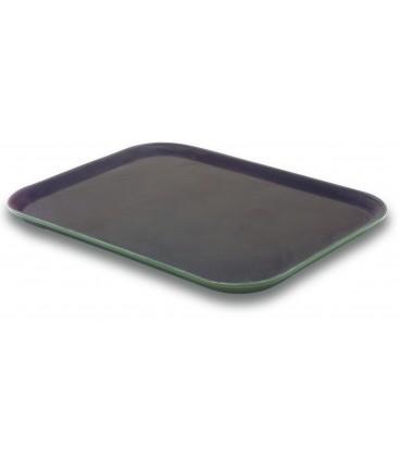Plateau rectangulaire de fibre de verre anti-dérapant de Lacor