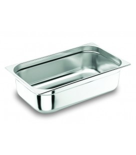 Tray GN 1/1 Lacor 18/10 stainless steel