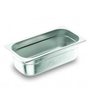 Tray GN 1/2 Lacor 18/10 stainless steel