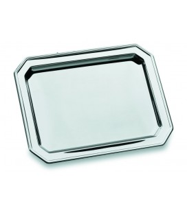 Tray octagonal stainless steel 18/10 of Lacor