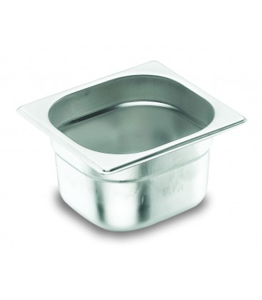 Tray GN 1/6 Lacor 18/10 stainless steel
