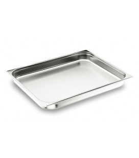 Tray GN 2/1 Lacor 18/10 stainless steel