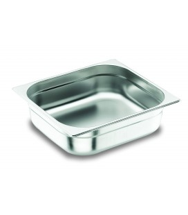 Tray 2/3 GN Lacor 18/10 stainless steel