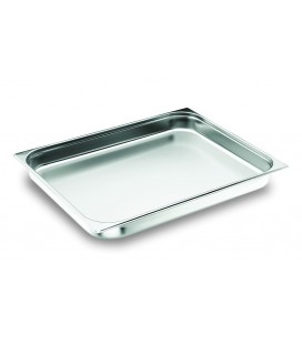 Tray Gastronorm 2/1 stainless of Lacor