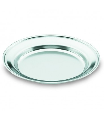 Dish plain Camping stainless 18/10 of Lacor