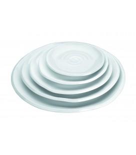 Dish round wavy Lacor melamine