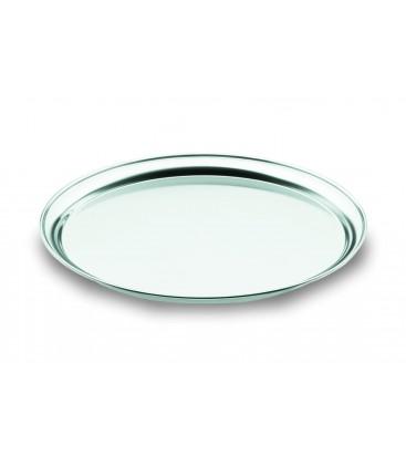 Tray waiter polished satin Lacor Inox18/10