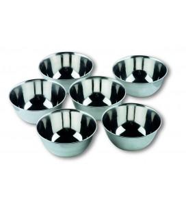 6 petits bols Lacor inox-Garinox