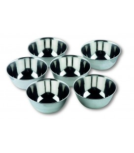6 small bowls Lacor stainless-Garinox
