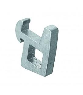 Game 4 hooks rail modular shelving of Lacor