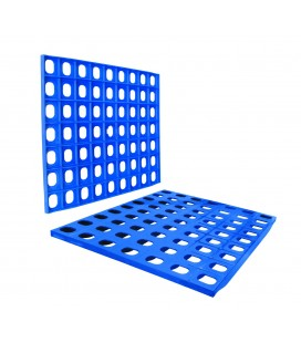 Grill polyethylene modular shelving of Lacor