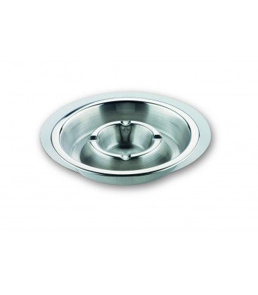 Stainless ashtray - Garinox of Lacor