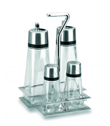 Vinegar pot Hiperlux 4 pieces with support of Lacor