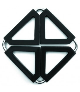 Drop-down Lacor silicone trivet