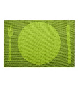 Lacor green placemat
