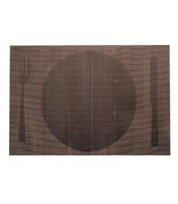 Lacor Brown placemat