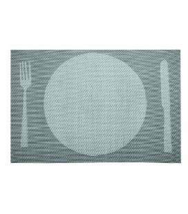 Set de table gris Lacor