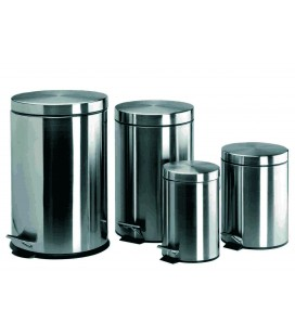 Pédale en acier inoxydable bin 3 L de Lacor
