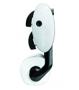 Toilet roll holder stainless Oval wall of Lacor