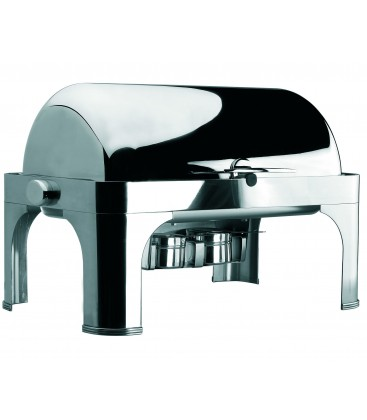 Chafing Dish Roll Top de Gastronorm 1/1 en acier inoxydable de Lacor