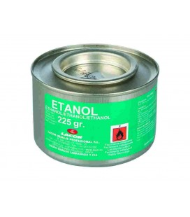 Can of Gel fuel ethanol 225 Gr of Lacor