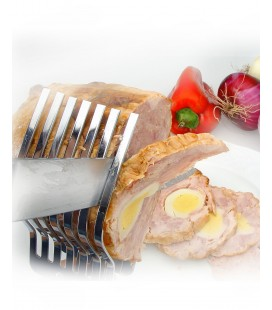 Comb short stainless meat of Lacor